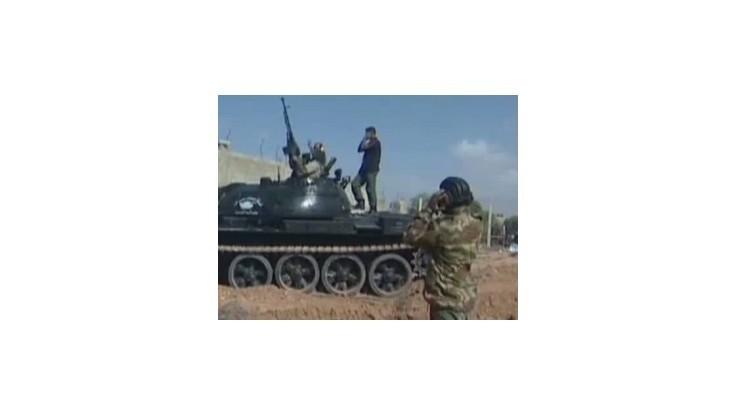 Vojaci líbyjskej dočasnej vlády obsadili sídlo polície v Syrte