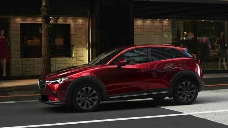 Vylepšená Mazda CX-3 príde na trh v lete