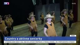 Seniorky zo Spiša trávia dôchodok aktívne, nacvičili niekoľko choreografií