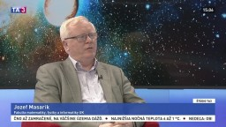 ŠTÚDIO TA3: P. Mikitič a J. Masarik o Stephenovi Hawkingovi