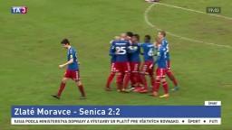 Fortuna liga: Zlaté Moravce potešil prvý bod, Senica sa posunula