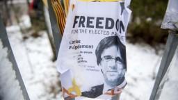 Nevzdám sa a neodstúpim, odkázal Puigdemont z väzenia
