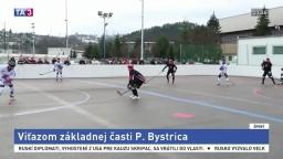 Víťazmi hokejbalovej extraligy sa stali hráči z Považskej Bystrice