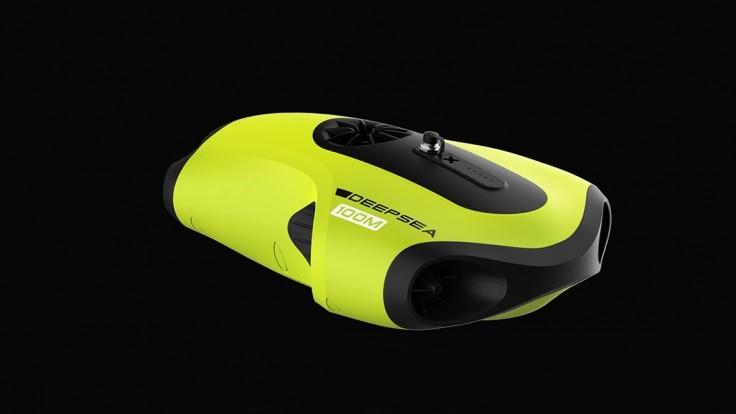 Skúste objavovať hĺbky oceánu. Dron Fifish P3 bude vašimi očami.