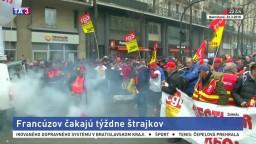 Francúzov čakajú týždne štrajkov, obyvateľom výrazne skomplikujú život