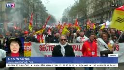 A. Vrbovská o rozsiahlom štrajku vo Francúzsku