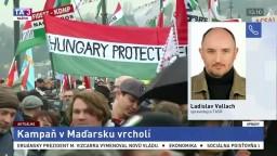 Spravodajca L. Vallach o predvolebnej kampani v Maďarsku