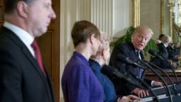 Trump s lídrami Pobaltia riešil bezpečnosť aj záväzky k NATO