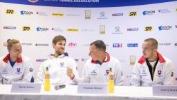 Slovenskí tenisti privítajú Bosnu, Hrbatý chváli náš fungujúci tím