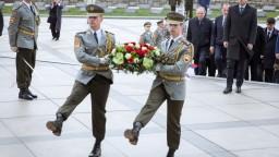 Fotogaléria: Na Slavíne si slávnostne pripomenuli oslobodenie Bratislavy