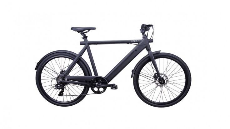 Elektrický bicykel s odpojiteľnou batériou pre pohodlné nabíjanie