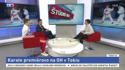 ŠTÚDIO TA3: A. Gyurik a P. Macko o karate na olympiáde
