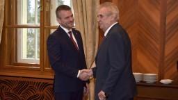 Zeman sa stretol aj s Pellegrinim, rokovali o aktuálnych témach