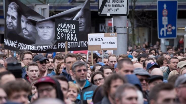 Nová strana sa hlási k protestom, organizátori sú nepríjemne prekvapení