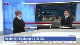 HOSŤ V ŠTÚDIU: J. Marková o osobných bankrotoch