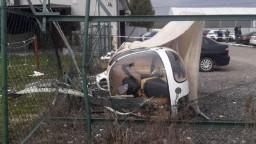 Na Spiši spadol vrtuľník, príčiny pádu vyšetruje polícia