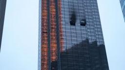 V Trumpovom mrakodrape vypukol požiar, jeden muž prišiel o život