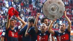 Bayern dominuje Bundeslige, získal 6. titul v rade