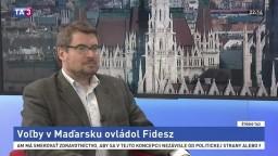 HOSŤ V ŠTÚDIU: Tomáš Strážay o voľbách v Maďarsku