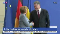 Nový plynovod má obísť Ukrajinu, Merkelová si ju zastala