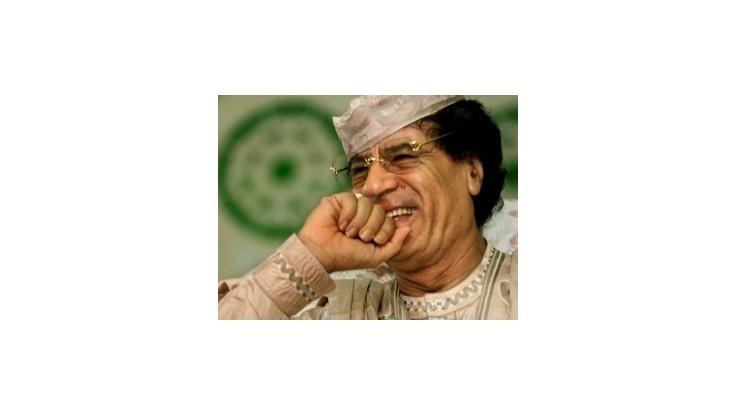 Líbyu a Ukrajinu rozhádalo Kaddáfího lietadlo zdobené zlatom