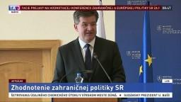 Privítacie prejavy na Hodnotiacej konferencii zahraničnej a európskej politiky SR