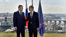 Pellegrini navštívil Česko, SR sa pridá k železničnému projektu
