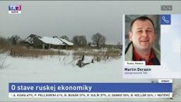 Reportér M. Dorazín o Medvedevovej bilancii ruskej ekonomiky