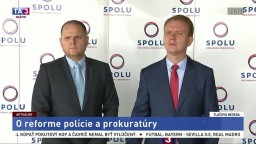 TB M. Beblavého a P. Nechalu o reforme polície a prokuratúry