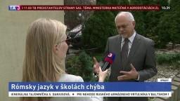 Ombudsmanka M. Patakyová a lektor J. Hero o problémoch s rómčinou