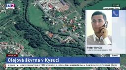 P. Revús o olejovej škvrne na rieke Kysuca