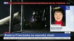 A. Vrbovská o účasti Francúzska na útokoch v Sýrii