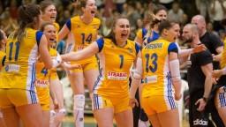 Volejbalovými majsterkami Slovenska sú po prvý raz hráčky Strabagu