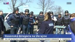 Pozorovateľov OBSE sprevádzala na Ukrajine slovenská delegácia