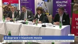 Zástupcovia mesta a developeri diskutovali o doprave v Bratislave