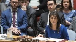 USA chce Rusku uvaliť ďalšie sankcie, dôvodom je podpora Asada