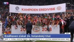 PSV Eindhoven zdolal Ajax, zabezpečil si ďalší holandský titul