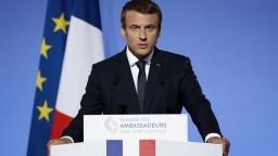 Staré problémy i nové výzvy. Macron hovoril o budúcnosti EÚ