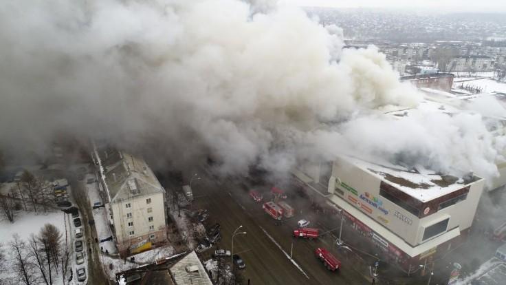 Opísali, ako sa šíril smrtiaci požiar v ruskom nákupnom centre