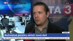 Odborník na financie Ľ. Kačalka o zdanení poistiek