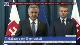 TB P. Pellegriniho a T. Gašpara o odvolaní policajného prezidenta