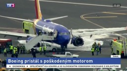 Boeing pristál s poškodeným motorom, nehoda si vyžiadala ľudský život
