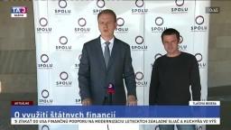 TB predstaviteľov strany SPOLU o rozumnejšom využití štátnych financií