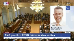 D. Vozdecký o politických jednaniach v Česku