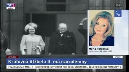 Odborníčka na dejiny európskych veľmocí M. Holubová o britskej kráľovnej