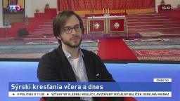 ŠTÚDIO TA3: Cirkevný historik M. Nicák o sýrskych kresťanoch