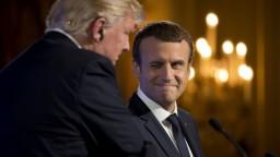 Macron navštívi USA, s Trumpom chce potvrdiť dobré vzťahy