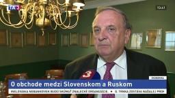 P. Mihók o obchode medzi Slovenskom a Ruskom