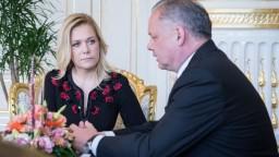 Nádejná ministerka vnútra sa stretla s Kiskom, hovorili i o kauzách