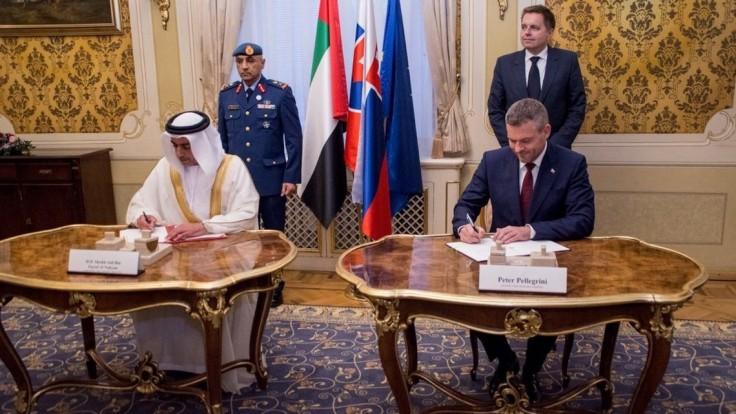 Premiér mal návštevu z Emirátov, so šejkom podpísali dohodu